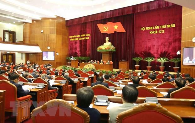 Bế mạc Hội nghị lần thứ 10, Ban Chấp hành Trung ương Đảng khóa XII: Hoàn thành các chương trình, nhiệm vụ đã đề ra - Ảnh 2.
