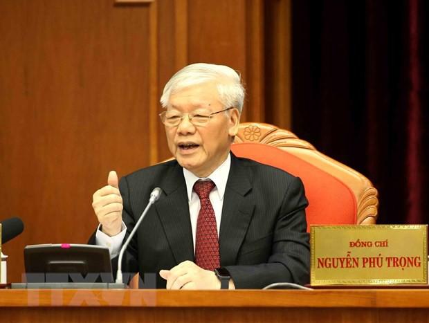 Toàn văn phát biểu bế mạc Hội nghị Trung ương 10 của Tổng Bí thư - Ảnh 1.