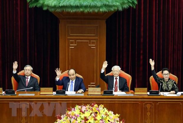 Bế mạc Hội nghị lần thứ 10, Ban Chấp hành Trung ương Đảng khóa XII: Hoàn thành các chương trình, nhiệm vụ đã đề ra - Ảnh 3.
