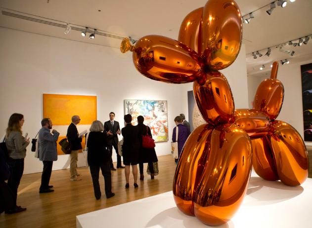 Điều gì đáng tiền trong 5 tác phẩm đắt giá nhất thế giới của các nghệ sỹ còn sống? - Ảnh 3.