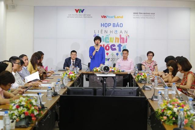 Liên hoan thiếu nhi quốc tế VTV 2019 tôn vinh sắc màu văn hóa bốn phương - Ảnh 1.