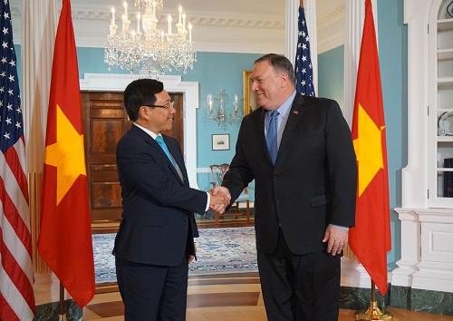 Phó Thủ tướng, Bộ trưởng Ngoại giao Phạm Bình Minh thăm chính thức Hoa Kỳ - Ảnh 1.