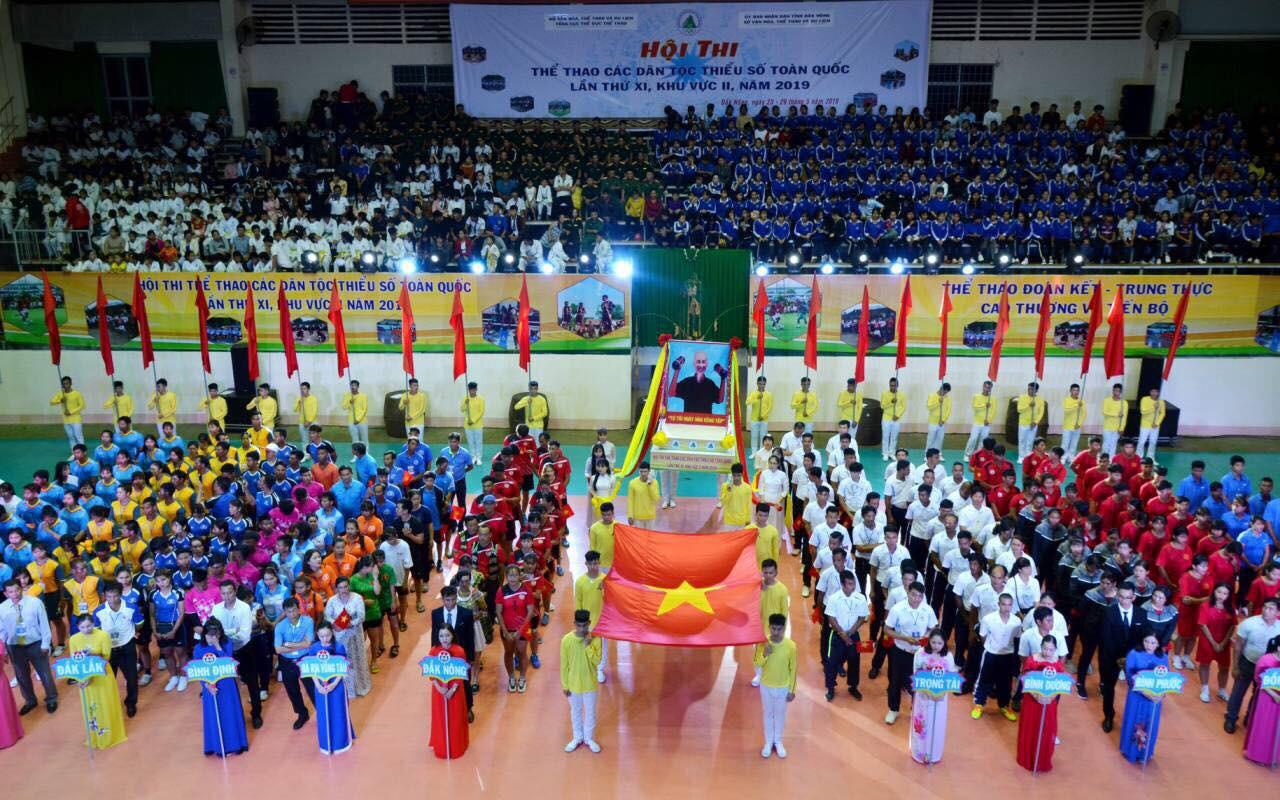 Khai mạc Hội thi Thể thao các dân tộc thiểu số toàn quốc lần thứ XI