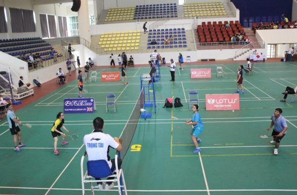 Tổ chức Giải Cầu lông gia đình Hà Nội năm 2019 - Ảnh 1.