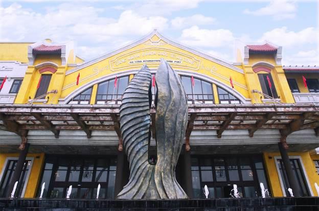 Mục sở thị cửa ngõ mới thăm vịnh di sản - Ảnh 3.