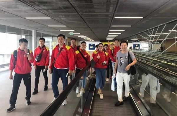 Đoàn Việt Nam tham dự giải Cúp thế giới võ cổ truyền Việt Nam lần thứ nhất – Marseille 2019 tại Pháp - Ảnh 1.