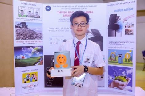 Bất ngờ với các sản phẩm thông minh được chế tạo bởi học sinh cấp 2 - Ảnh 2.
