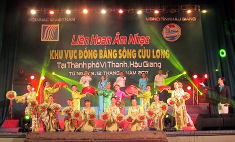 Liên hoan Âm nhạc khu vực đồng bằng sông Cửu Long năm 2019 sẽ diễn ra tại Cà Mau - Ảnh 1.