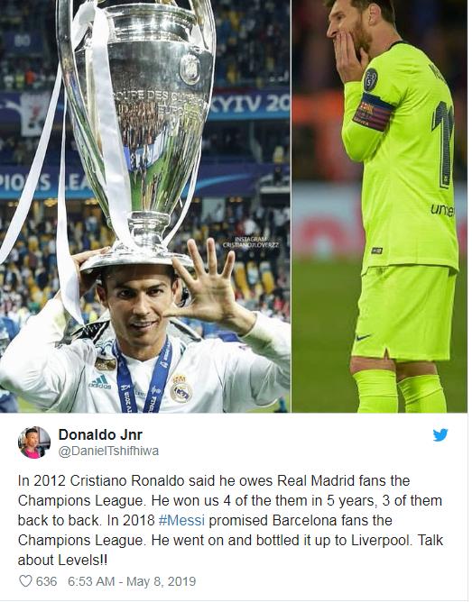 Bất ngờ em bé Hoàng gia và Cristiano Ronaldo bị réo tên sau cú lội ngược dòng lịch sử của Liverpool - Ảnh 3.