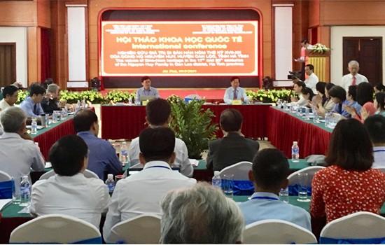 Hội thảo quốc tế Nghiên cứu giá trị di sản Hán Nôm thế kỷ VII - XX của dòng họ Nguyễn Huy - Ảnh 1.