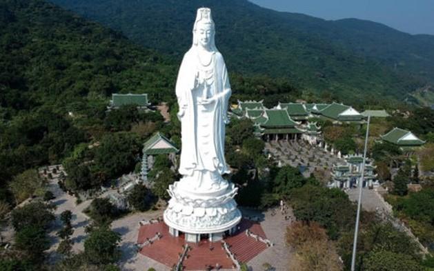 Tượng Phật Quán Thế Âm chùa Linh Ứng lọt top ảnh du lịch đẹp nhất thế giới 2019