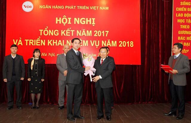 Thủ tướng bổ nhiệm Tổng Giám đốc Ngân hàng Phát triển Việt Nam  - Ảnh 1.
