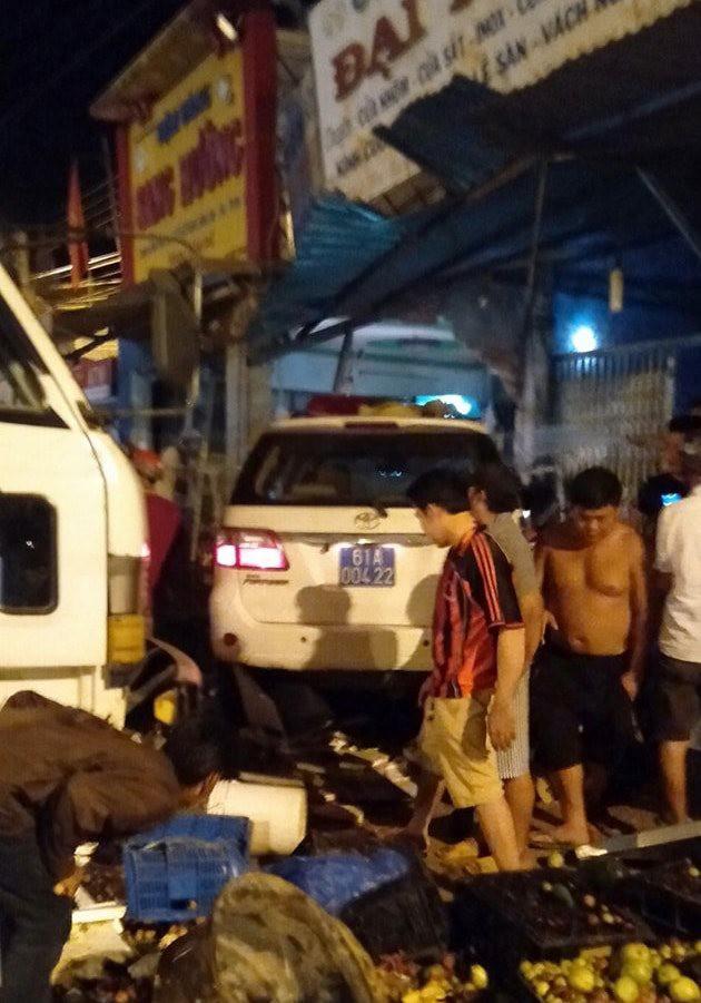Tài xế lái xe CSGT ở Bình Dương có dấu hiệu dùng rượu bia khi gây tai nạn khiến 1 người tử vong - Ảnh 1.