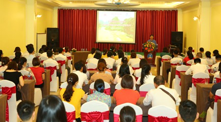 Ninh Bình bồi dưỡng nghiệp vụ du lịch đối với người lao động tại các cơ sở lưu trú - Ảnh 1.