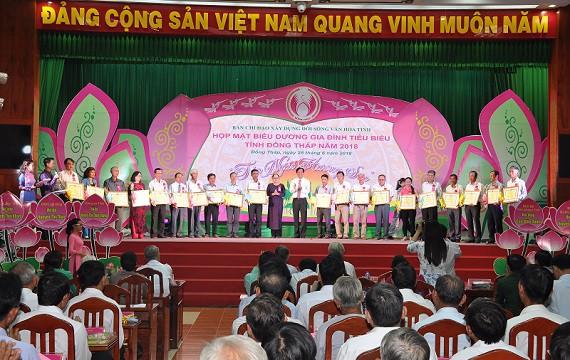 Đồng Tháp hưởng ứng Ngày Gia đình Việt Nam - Ảnh 1.