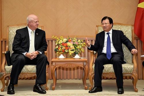 Chính phủ Việt Nam sẽ tiếp tục tạo điều kiện thuận lợi để các doanh nghiệp Hoa Kỳ hoạt động hiệu quả - Ảnh 1.