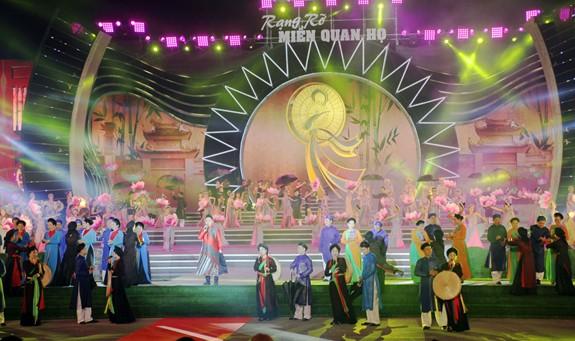 Bắc Ninh tăng cường trưng bày, quảng bá di sản văn hóa tại Nhà hát Dân ca Quan họ - Ảnh 1.