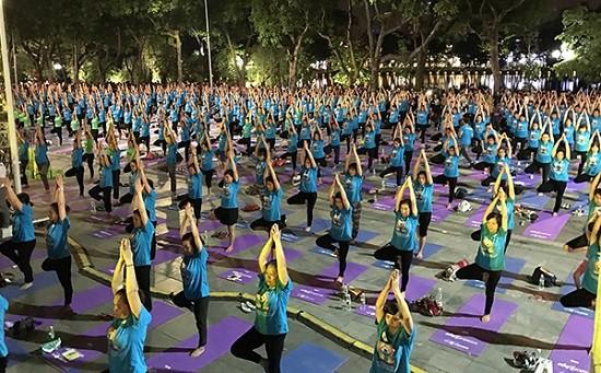 Yoga cho cuộc sống xanh - Ảnh 1.