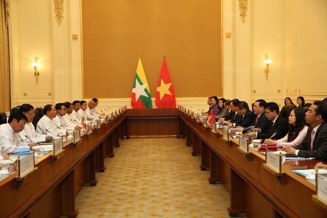 Chuyến thăm Myanmar của Phó Thủ tướng Vương Đình Huệ mở ra nhiều cơ hội hợp tác mạnh mẽ về kinh tế giữa hai nước - Ảnh 2.