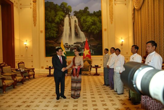 Chuyến thăm Myanmar của Phó Thủ tướng Vương Đình Huệ mở ra nhiều cơ hội hợp tác mạnh mẽ về kinh tế giữa hai nước - Ảnh 4.