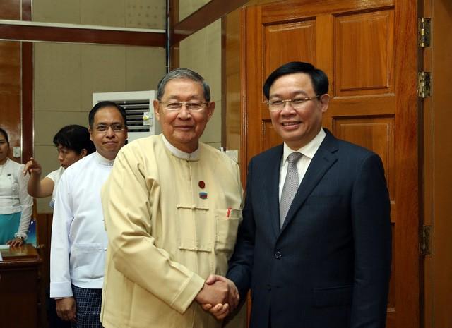 Chuyến thăm Myanmar của Phó Thủ tướng Vương Đình Huệ mở ra nhiều cơ hội hợp tác mạnh mẽ về kinh tế giữa hai nước - Ảnh 5.