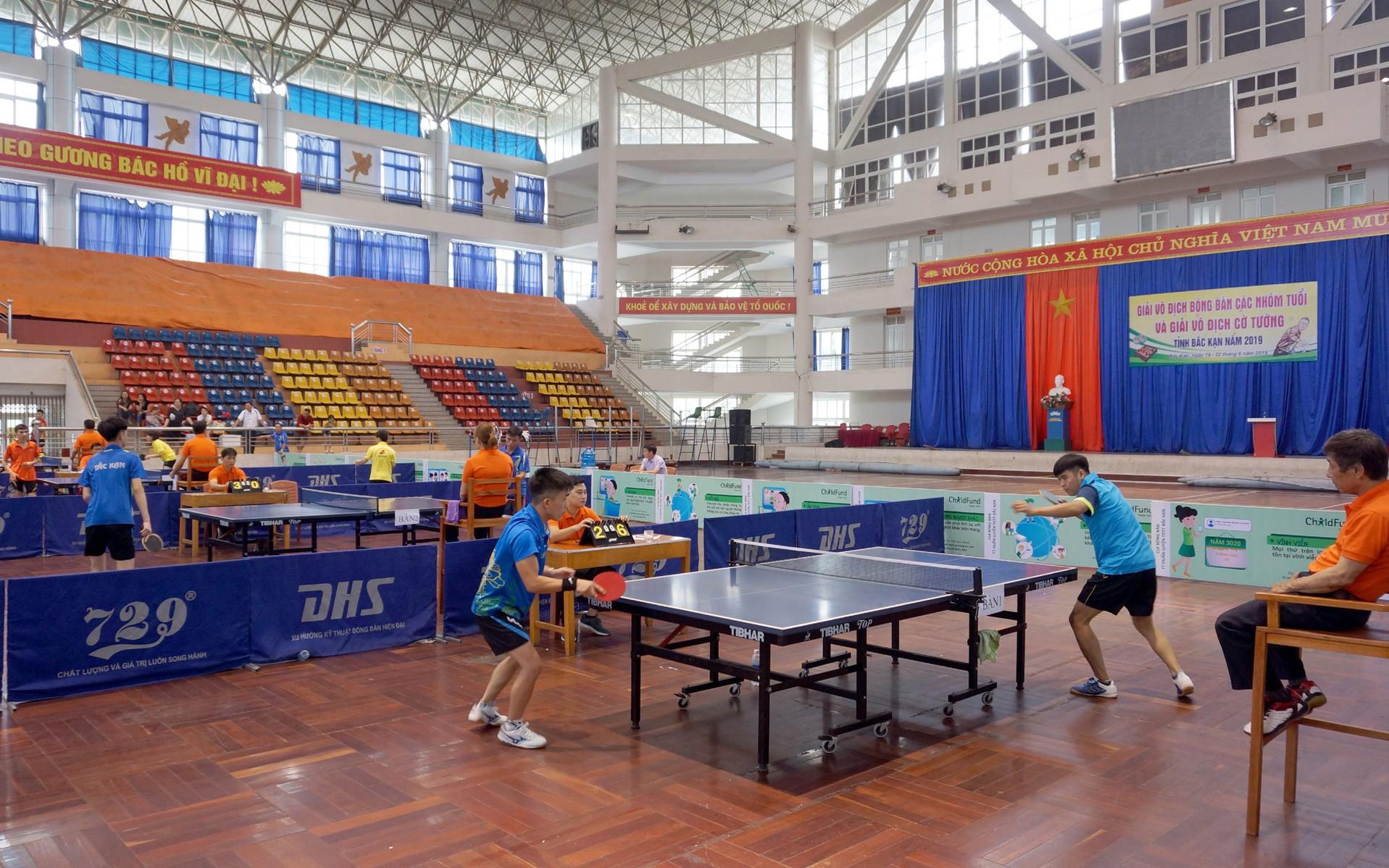 Giải vô địch Bóng bàn và Cờ tướng tỉnh Bắc Kạn 2019