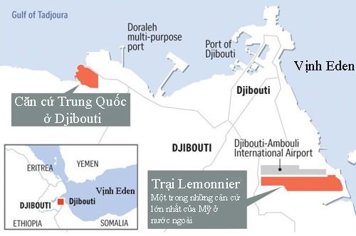 Trung Quốc và Mỹ đối phó nhau ở cấp độ quân sự tại Djibouti - Ảnh 1.