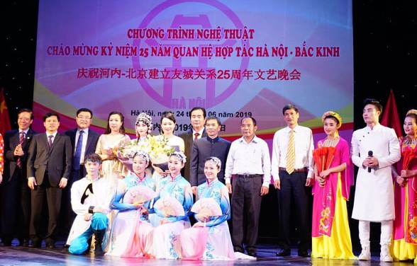 Giao lưu nghệ thuật hữu nghị Hà Nội - Bắc Kinh - Ảnh 1.
