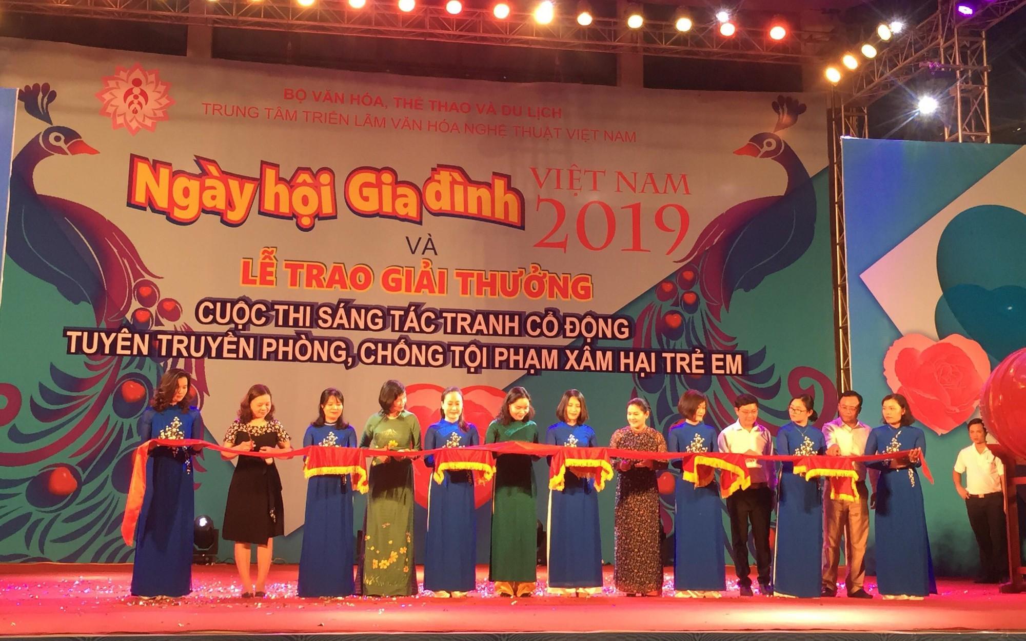 Khai mạc Ngày hội Gia đình Việt Nam 2019
