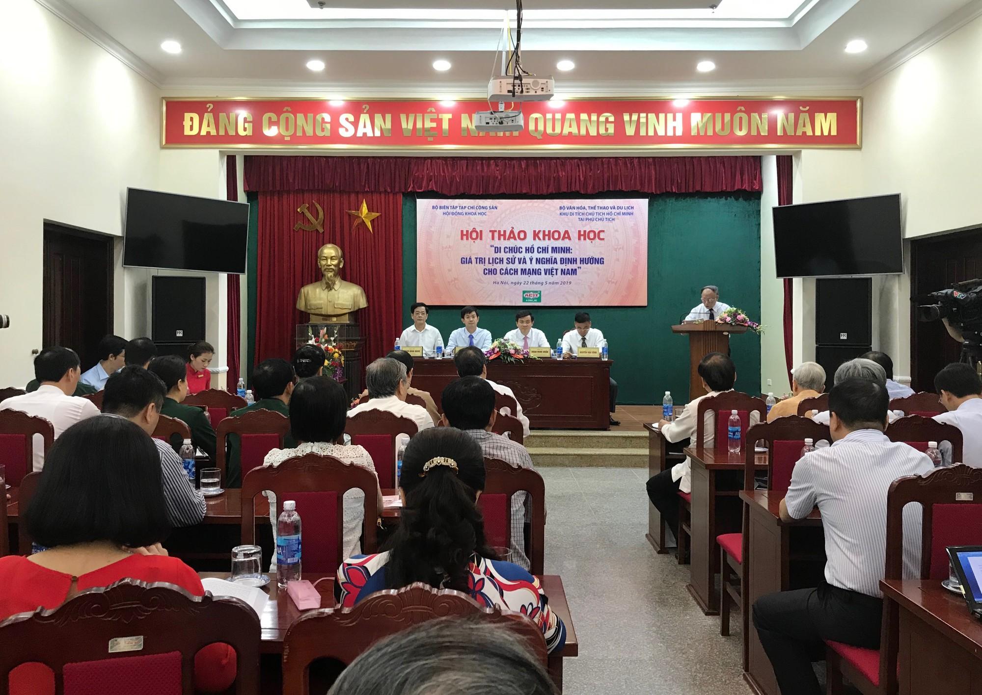 50 năm thực hiện Di chúc Hồ Chí Minh: Chỉnh đốn Đảng là việc làm tiên quyết và lâu dài - Ảnh 4.