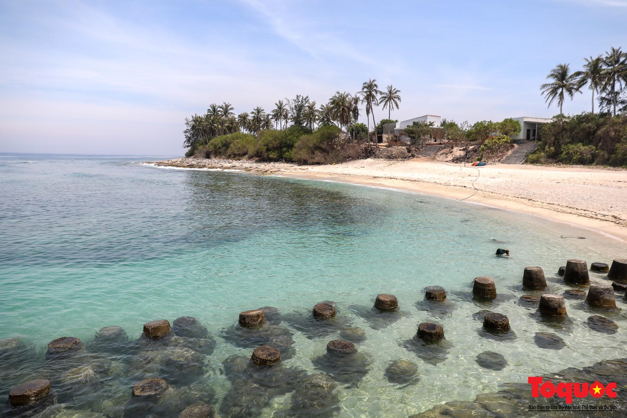 Ngỡ ngàng trước vẻ đẹp hoang sơ như thiên đường nhỏ của Đảo Bé, Lý Sơn - Ảnh 2.