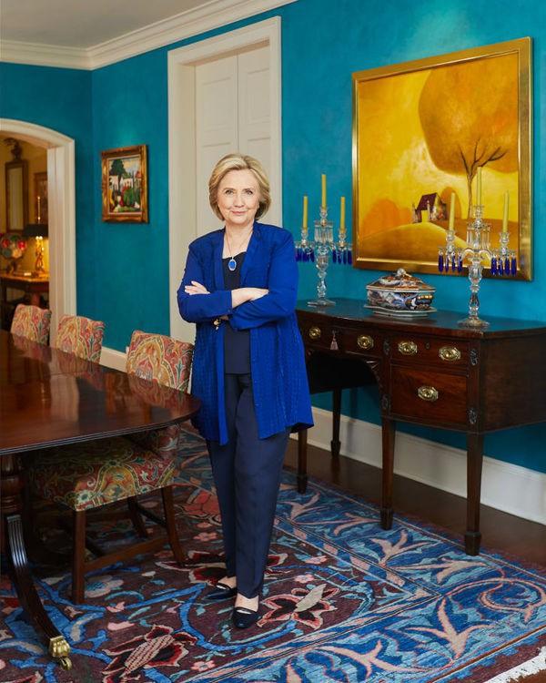 Những hình ảnh hiếm hoi trong Thiên đường trắng - ngôi nhà của vợ chồng Hillary Clinton - Ảnh 4.