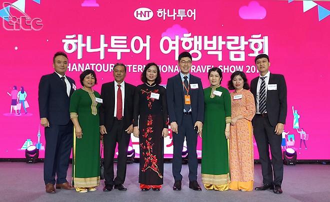 Phó Tổng cục trưởng Nguyễn Thị Thanh Hương tham dự Hội chợ Hanatour Hàn Quốc 2019