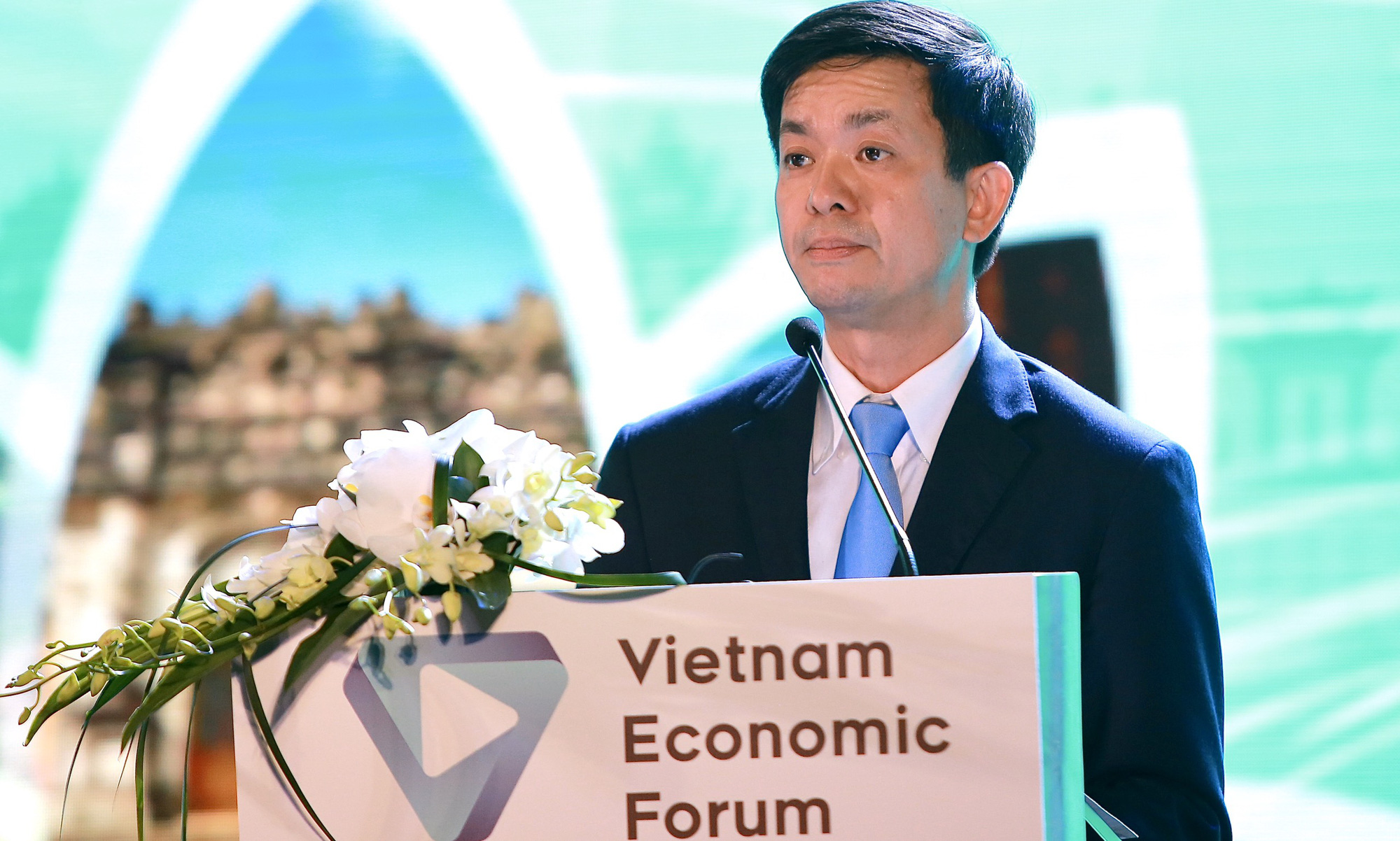 """Thứ trưởng Lê Quang Tùng: """"Diễn đàn Cấp cao Du lịch Việt Nam kỳ vọng sẽ tạo ra một làn gió mới cho ngành Du lịch"""" - Ảnh 1."""