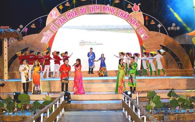 Khai mạc Tuần lễ Văn hóa, Du lịch Đồng Tháp năm 2019
