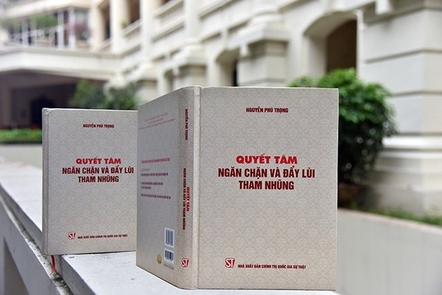 Ra mắt sách của Tổng bí thư, Chủ tịch nước về đẩy lùi tham nhũng - Ảnh 2.