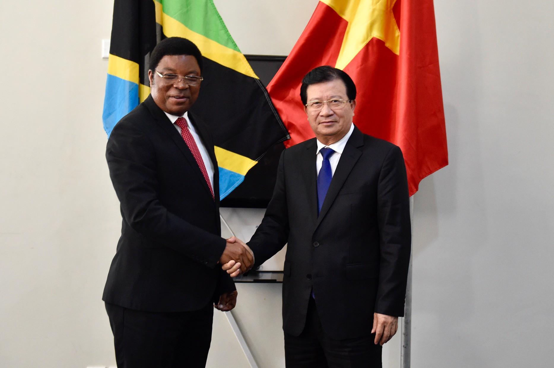 Việt Nam, Tanzania tăng cường hợp tác trên nhiều lĩnh vực - Ảnh 1.