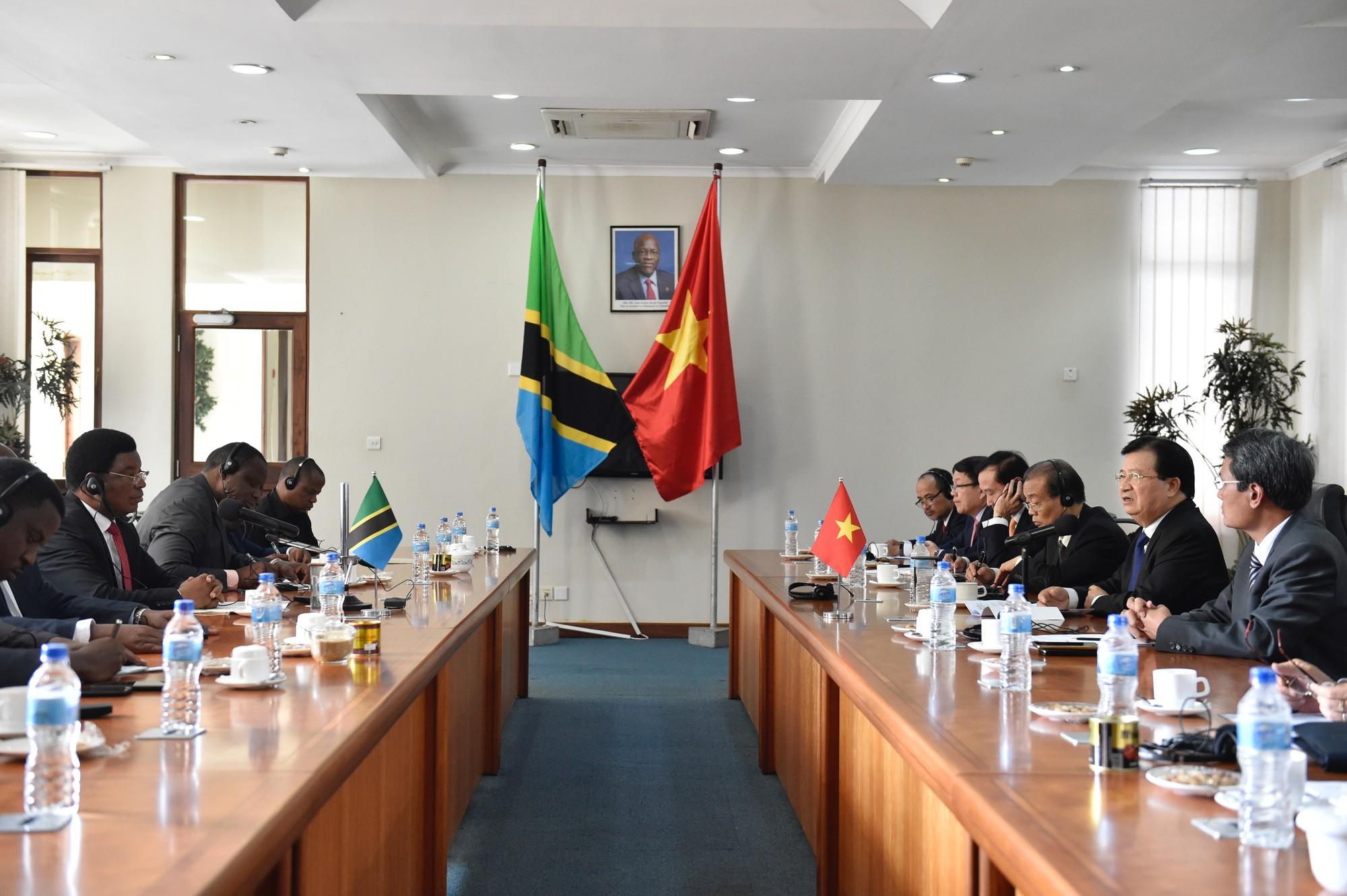 Việt Nam, Tanzania tăng cường hợp tác trên nhiều lĩnh vực - Ảnh 2.
