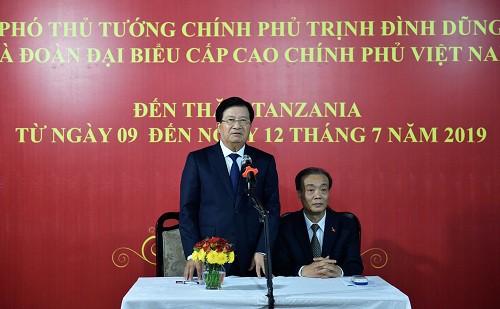 Tăng cường quan hệ chính trị, khuyến khích hợp tác doanh nghiệp Việt Nam-Tanzania - Ảnh 6.