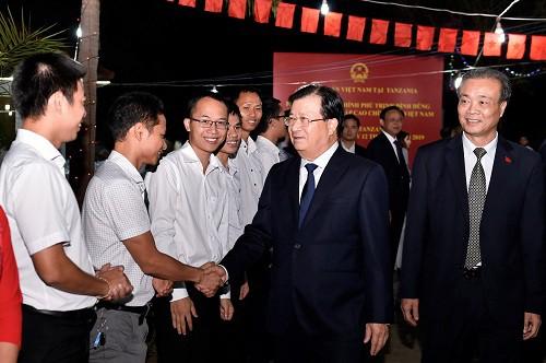 Tăng cường quan hệ chính trị, khuyến khích hợp tác doanh nghiệp Việt Nam-Tanzania - Ảnh 7.