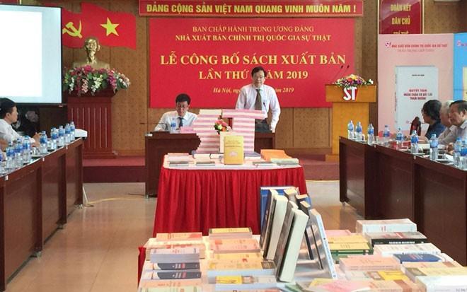 Nhà Xuất bản Chính trị quốc gia - Sự thật ra mắt độc giả gần 400 ấn phẩm