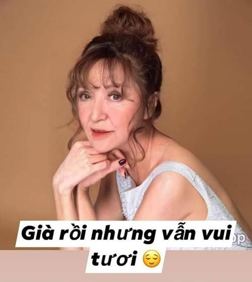 """Sao Việt hào hứng tham gia trào lưu """"hóa già"""" - Ảnh 3."""