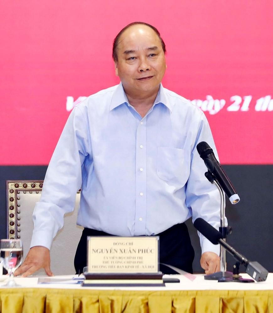 Thủ tướng chủ trì họp lần thứ ba Tổ biên tập Tiểu ban KT-XH  - Ảnh 4.