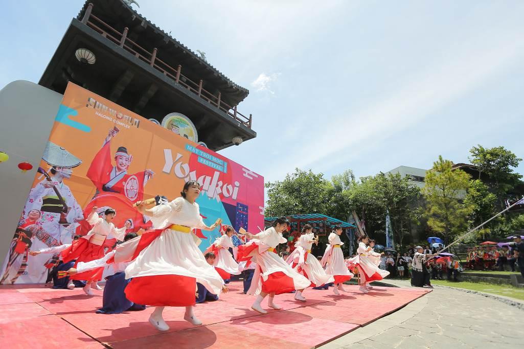 """Lạc bước giữa mùa hè rực rỡ ở góc """"Nhật Bản thu nhỏ"""" tại Sun World Halong Complex - Ảnh 7."""