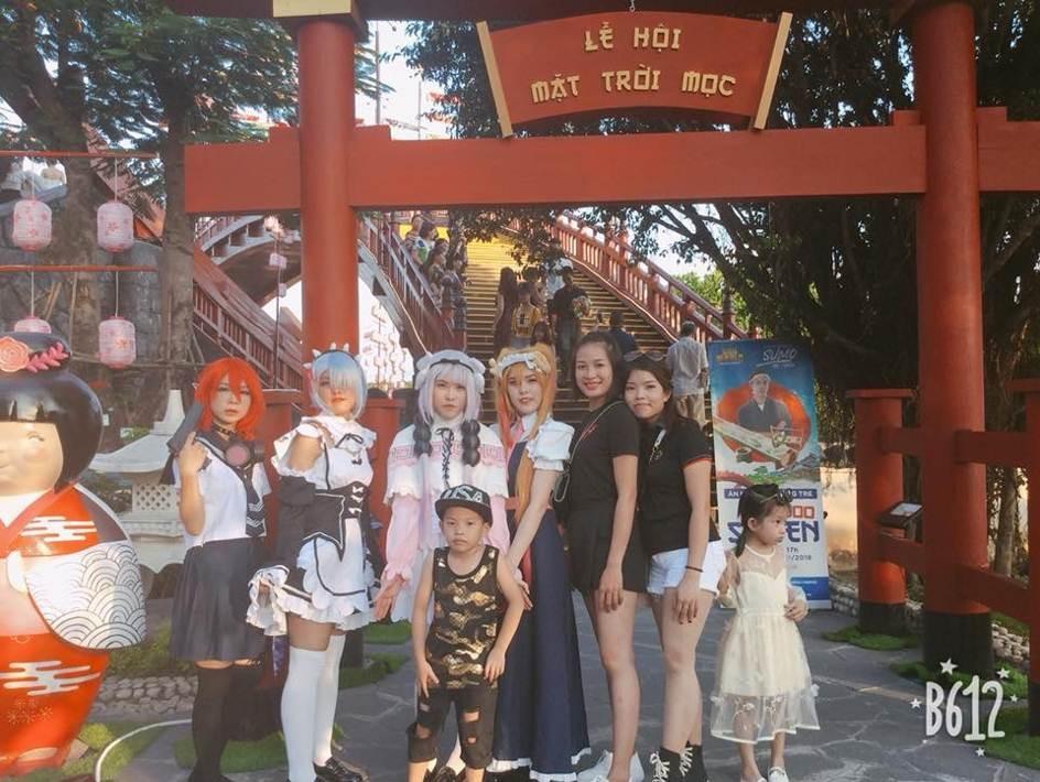 """Lạc bước giữa mùa hè rực rỡ ở góc """"Nhật Bản thu nhỏ"""" tại Sun World Halong Complex - Ảnh 8."""
