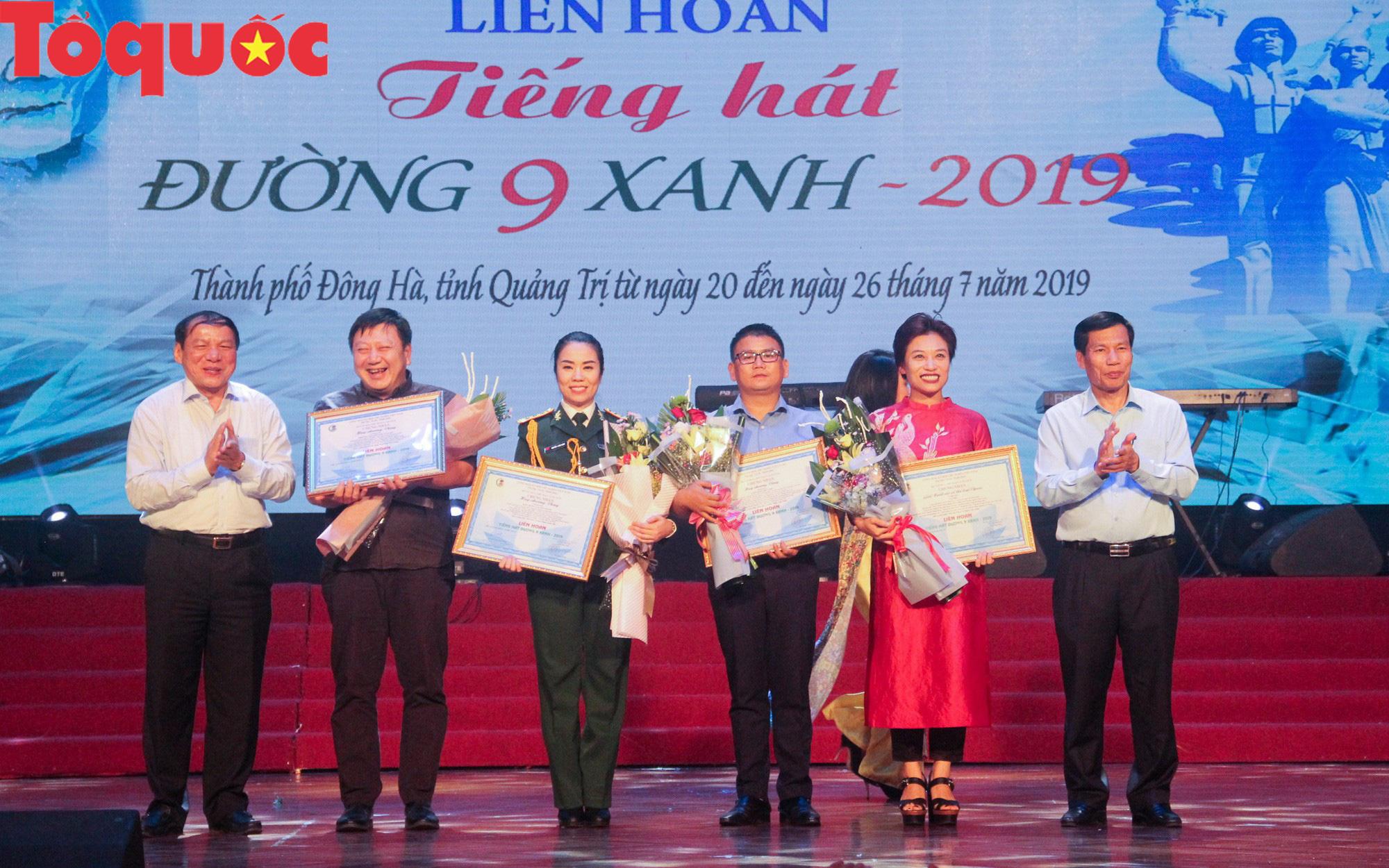 Bộ trưởng Nguyễn Ngọc Thiện dự lễ bế mạc Liên hoan Tiếng hát Đường 9 Xanh 2019