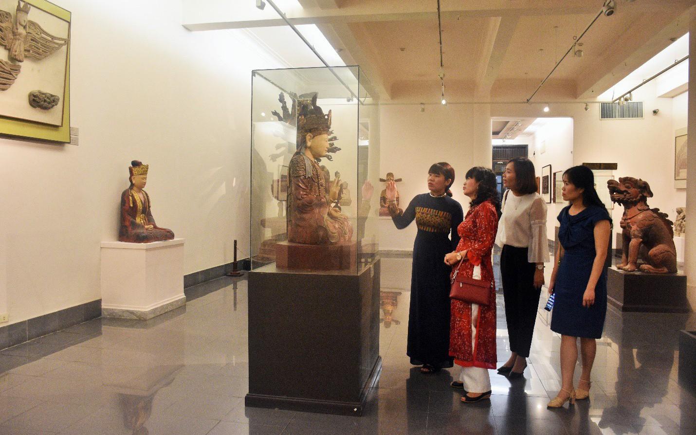 Hợp tác trưng bày giữa Bảo tàng Mỹ thuật Việt Nam và Bảo tàng Mỹ thuật Huế
