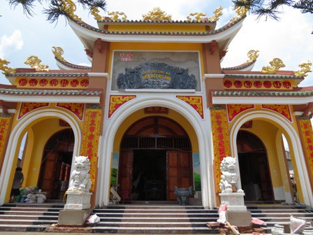 Đền thờ ông bà Chủ chợ Cao Lãnh được công nhận Di tích quốc gia - Ảnh 1.