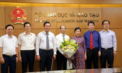 Bộ GDĐT bổ nhiệm Phó Cục trưởng Cục Hợp tác Quốc tế - Ảnh 1.
