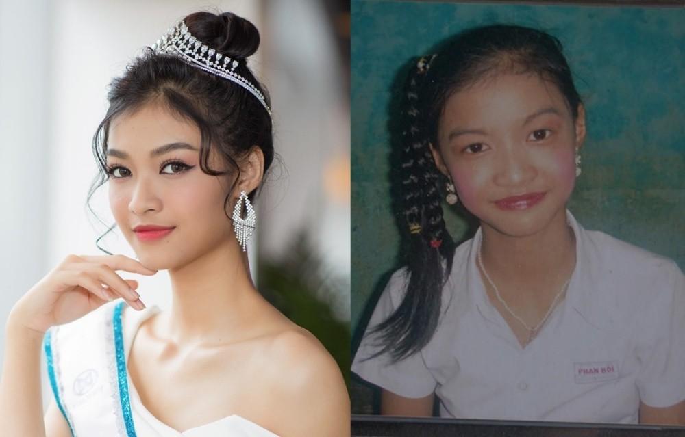 Vẻ đáng yêu thuở nhỏ của dàn Hoa hậu, Á hậu Việt Nam - Ảnh 1.